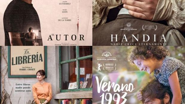 Las favoritas para ganar el Premio Goya a mejor película
