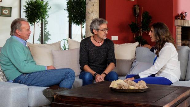BErtín Osborne y Paz Padilla hablan con Rodolfo Chikilicuatre en «Mi casa es la tuya»