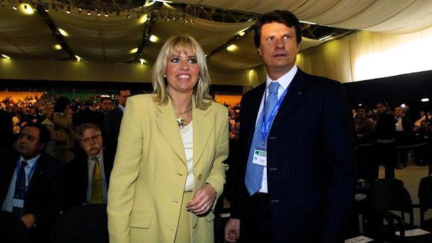 Alessandra Mussolini, mujer de uno de los implicados en el caso de prostitución infantil