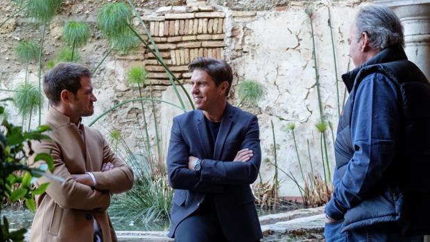 Julio Benítez y Manuel Díaz, en «Mi casa es la tuya»