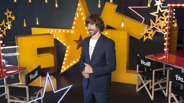 Santi Millán, presentador de «Got Talent»