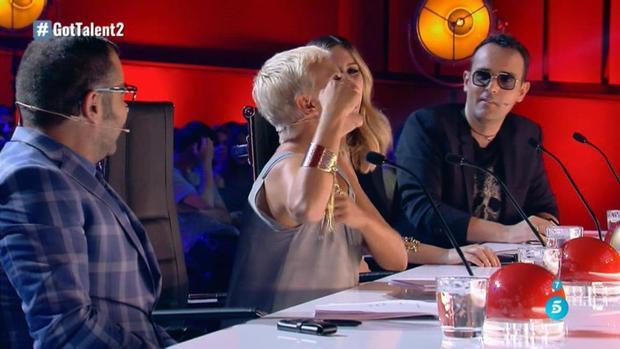Risto Mejide se dirige a Jorge Javier durante la segunda gala de Got Talent