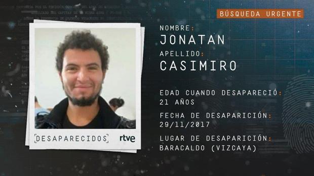 A Jonatan Casimiro se le perdió la pista el pasado noviembre y no se ha vuelto a saber de él