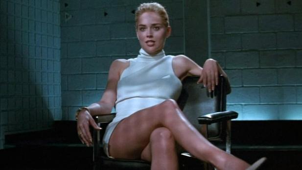 Sharon Stone en «Instinto básico»