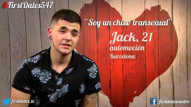 Jack fue valiente y no quiso ocultar su condición transexual