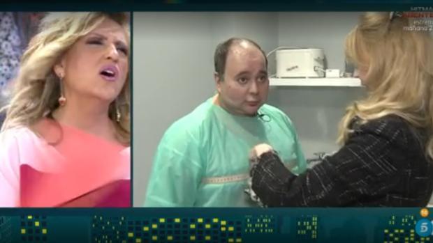 Sergio Alis se ha operado de su boca para intentar perder peso