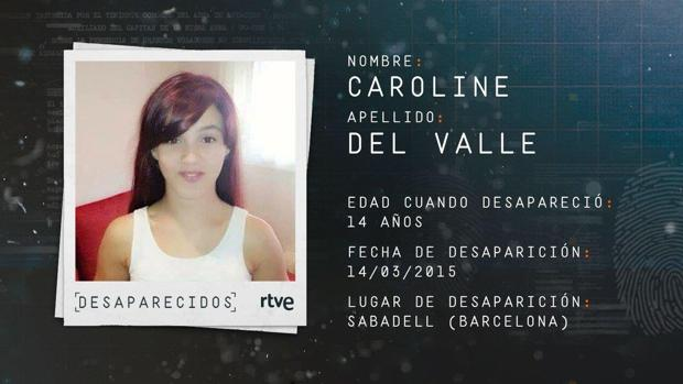A Caroline del Valle se le perdió la pista en marzo de 2015 durante una noche de fiesta