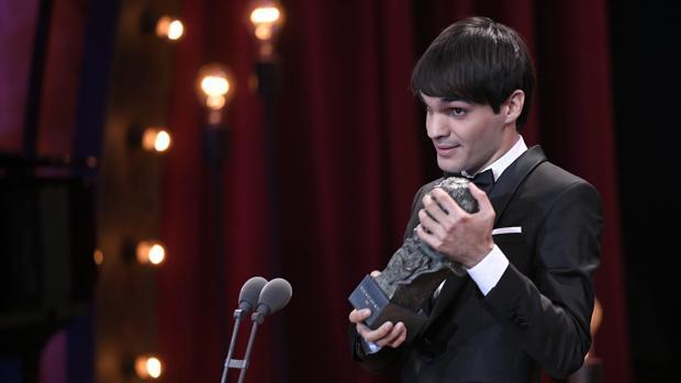 Eneko Sagardoy se hzo con el Goya a mejor actor revelación