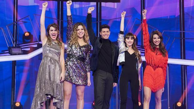 Los finalistas de Operación Triunfo (OT 2017)
