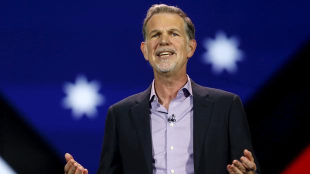 Reed Hastings, consejero delegado de Netflix, asistió a la Conferencia Telefónica 2017 en diciembre