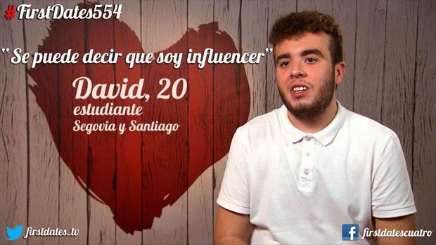 David es un joven gallego que dice marcar tendencia entre los que le rodean