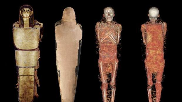 La momia dorada, un «thriller» documental para desvelar los enigmas del médico del faraón