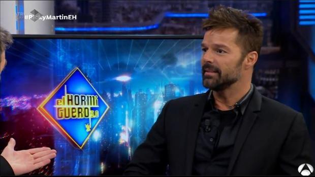 Ricky Martin, en «El Hormiguero»