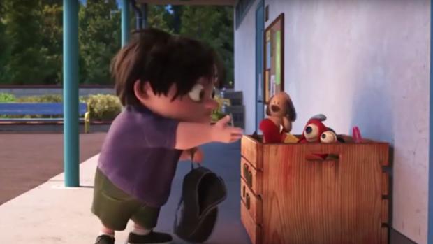 Fotograma de «Lou», el último corto de Pixar