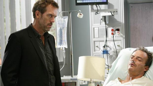 Hugh Laurie, el Doctor House, en un episodio de «House»
