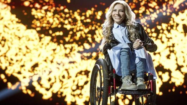 La cantante y representante de Rusia en el festival de Eurovisión, Julia Samóylova