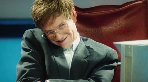 Eddie Redmayne como Stepehn Hawking