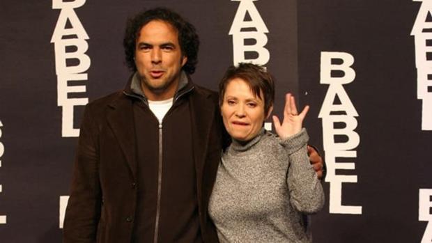 Adriana Barraza estuvo nominada al Oscar por su papel en «Babel», de González Iñárritu (i)