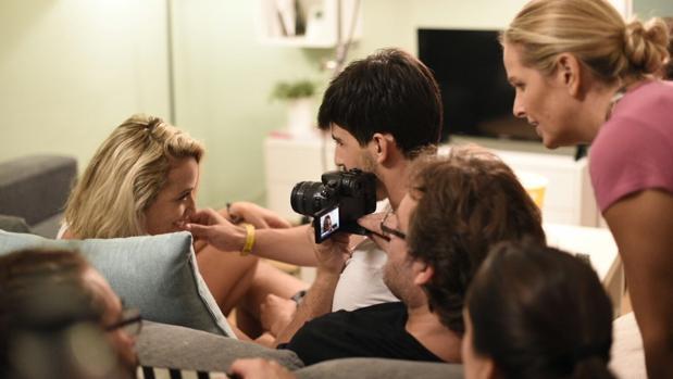 Rodaje del corto «El perdón», que participa en Cannes