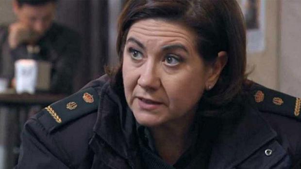 Luisa Martín, protagonista de «Servir y proteger»