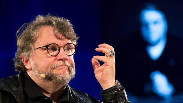 Guillermo del Toro, durante su intervención en la masterclass en Málaga