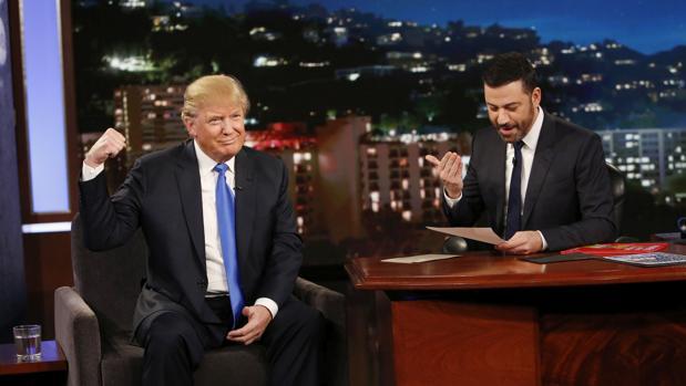 Jimmy Kimmel es uno de los cómicos estadounidenses más reconocidos