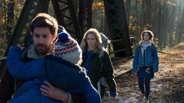 John Krasinski y Emily Blunt protagonizan «Un lugar tranquilo»