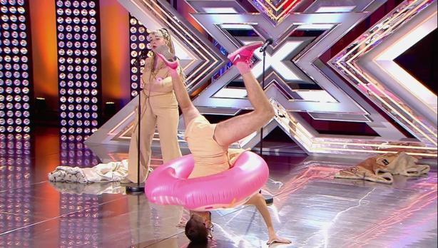La actuación «Cómeme el donut» en Factor X
