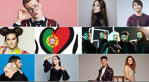 Los favoritos de Eurovisión 2018