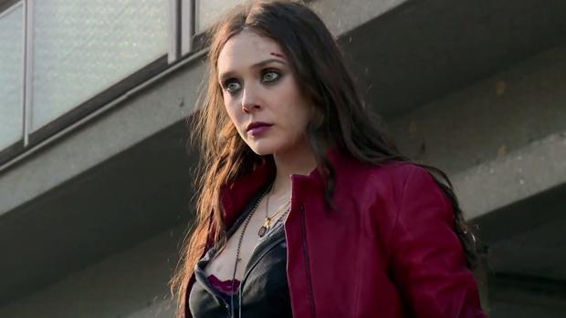 Elizabeth Olsen, la Bruja Escarlata en «Vengadores: Infinity War»