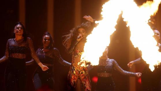 Chipre ha llevado el fuego al escenario del Altice Arena