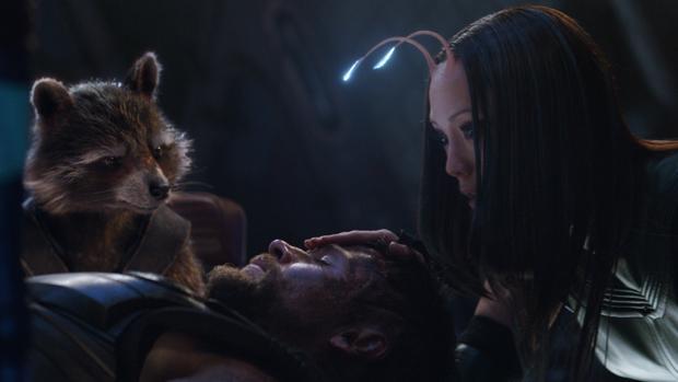 Escena de «Vengadores: Infinity War», la película más vista de los tres últimos días