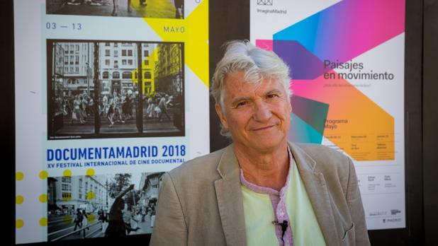 El documentalista brasileño Vincet Carelli durante su paso por Madrid