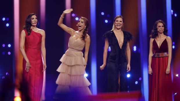 Las presentadoras del Festival de Eurovisión 2018