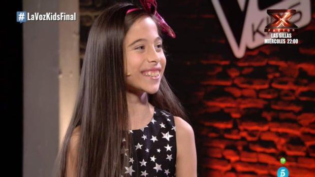 Mélani es la ganadora de la cuarta edición de La Voz Kids