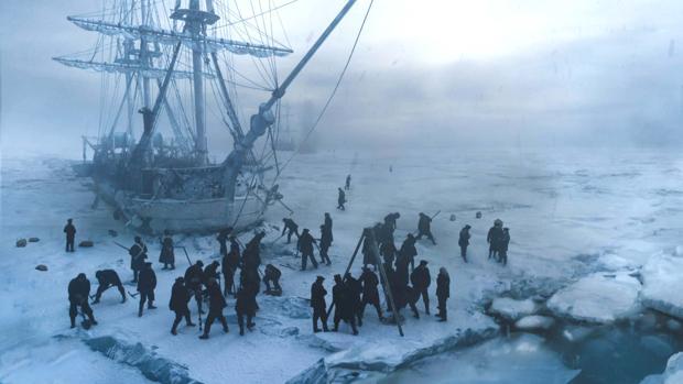 «The Terror», la serie de AMC que se inspira en la historia real de la Expedición Franklin