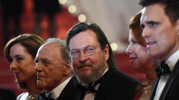 El equipo de «La casa de Jack Built» en Cannes