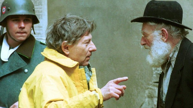 Roman Polanski en el rodaje de «El pianista»