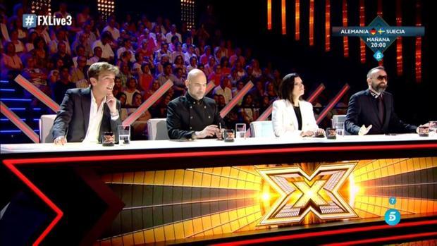 Los miembros del jurado de «Factor X»