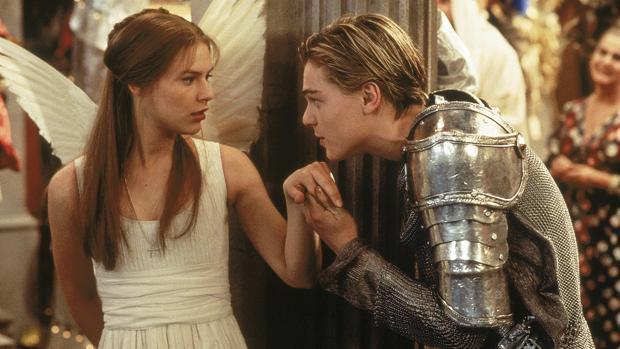 Leonardo DiCaprio, en «Romeo+Julieta»
