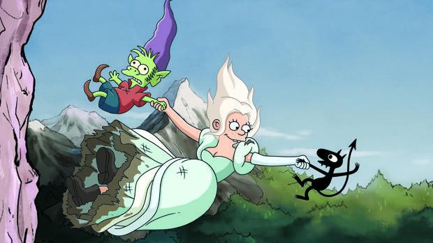La princesa Bean protagoniza «(Des)encanto»