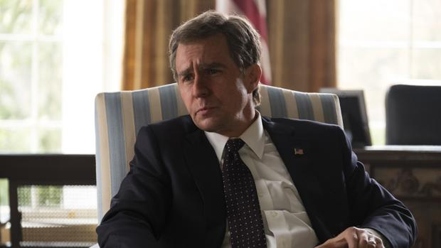 Sam Rockwell es G. W. Bush en «El vicio del poder»