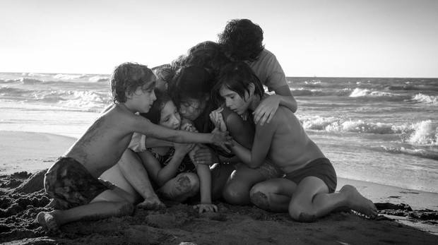Fotograma de «Roma», de Alfonso Cuarón