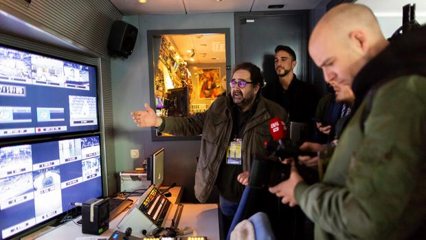 Víctor Santamaría explica cómo es realizar un evento así