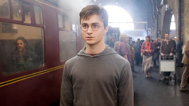Daniel Radcliffe, en una de las películas de la saga de «Harry Potter»