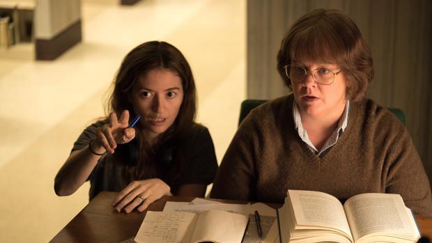 Melissa McCarthy recibe instrucciones de la directora de «¿Podrás perdonarme algún día?»