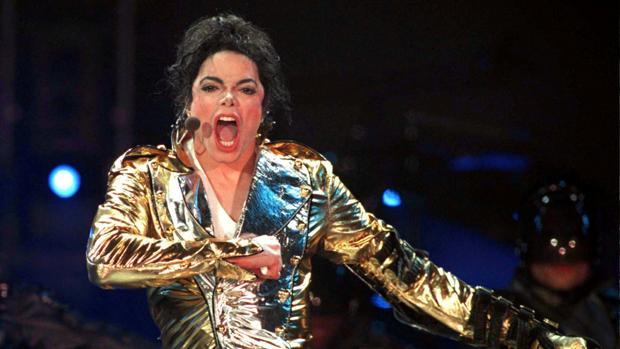 Michael Jackson, en un concierto en Moscú en 1996, un año después del juicio por abuso