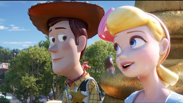 Escena del tráiler de Toy Story 4