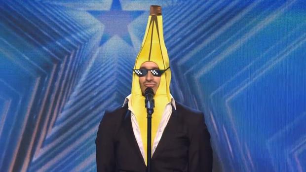 El Señor Banano, este lunes en «Got Talent»