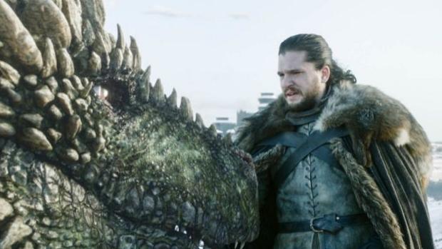 Jon Nieve, en el primer episodio de la octava temporada de «Juego de Tronos»